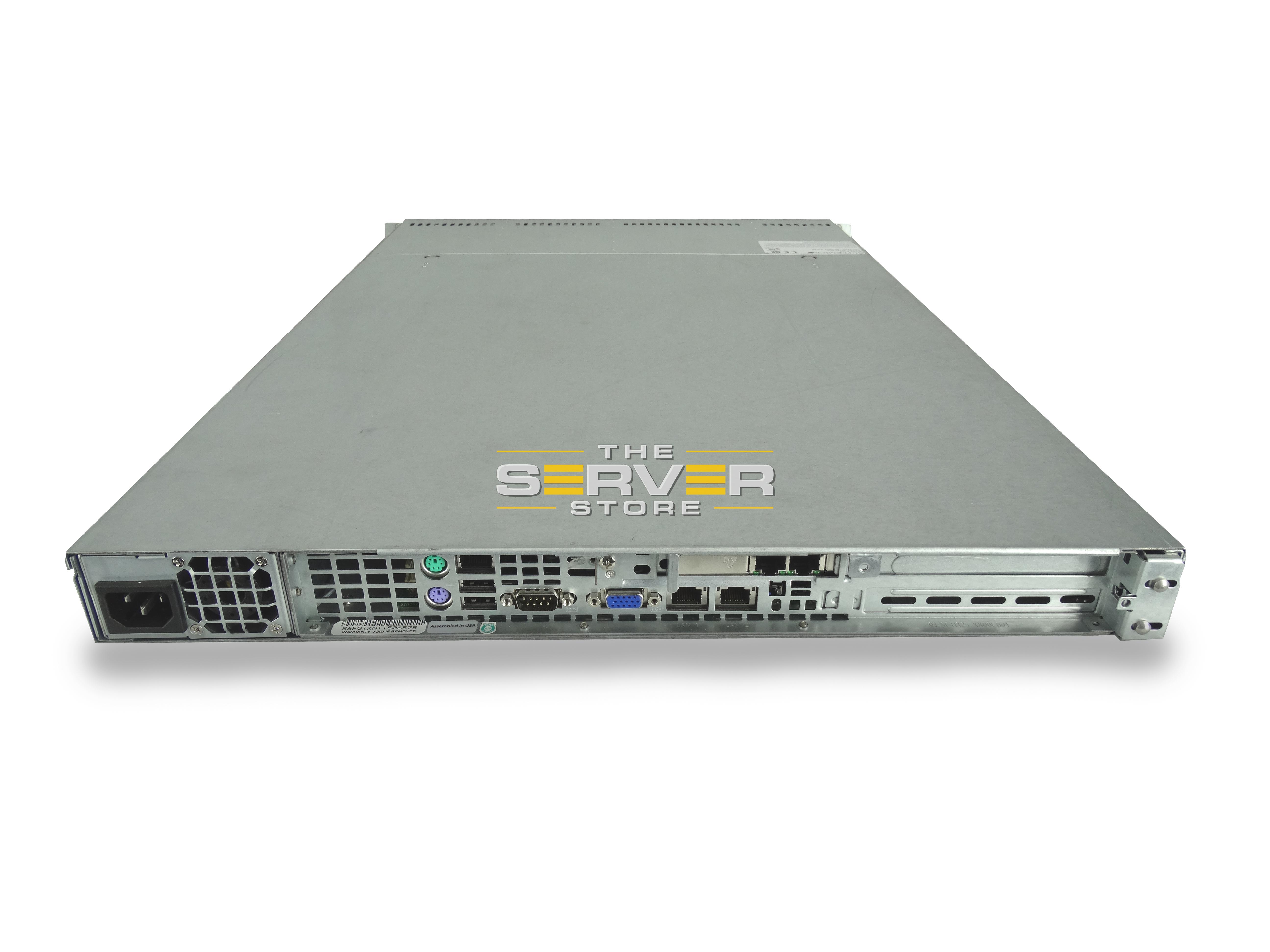SuperMicro 6016T-NTF W/ X8DTU-F 4x LFF 1U Server