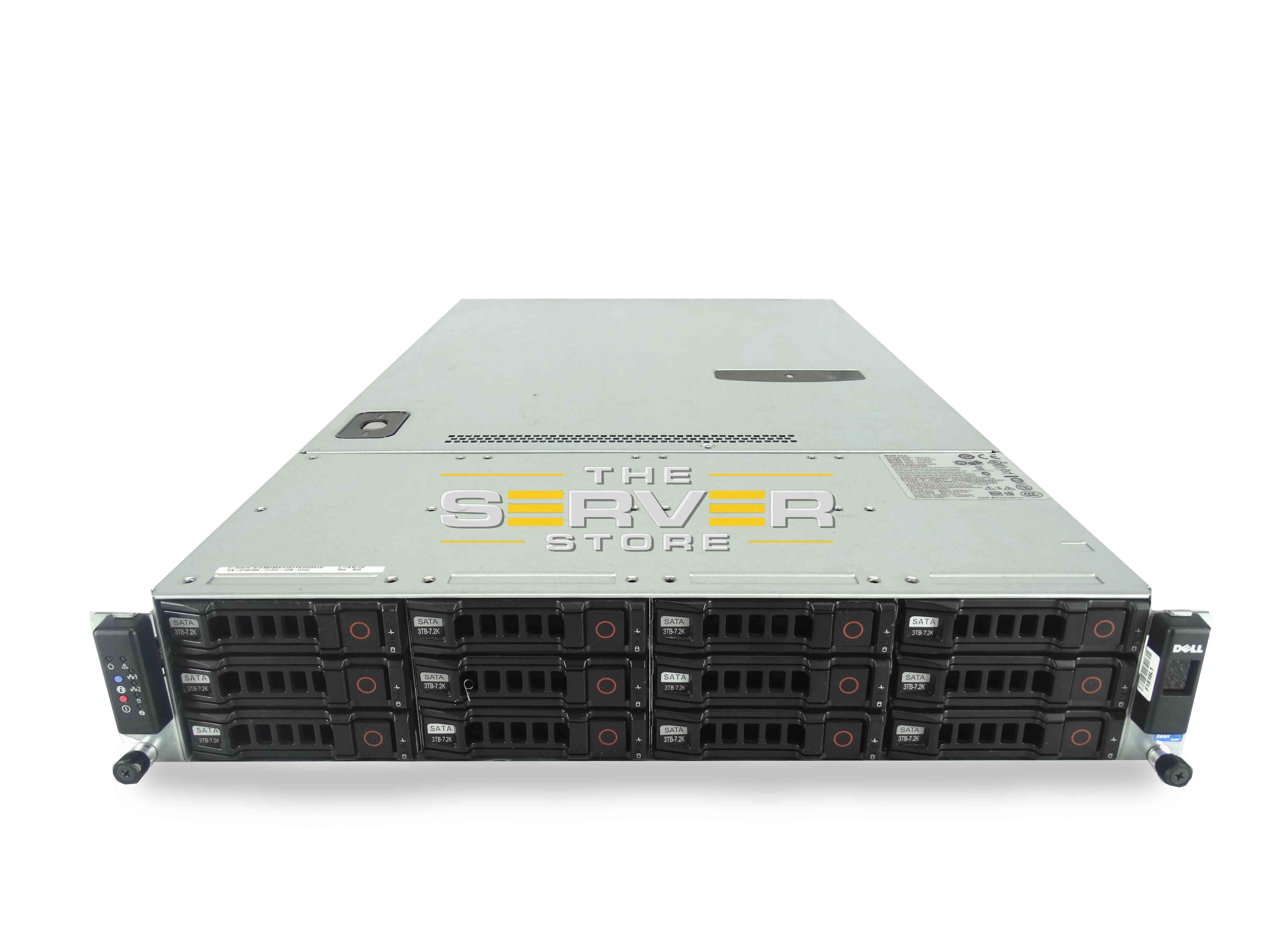 theserverstoreDell PowerEdge C2100 12x 2U LFF ServerDell PowerEdge C2100 12x 2U LFF Server
