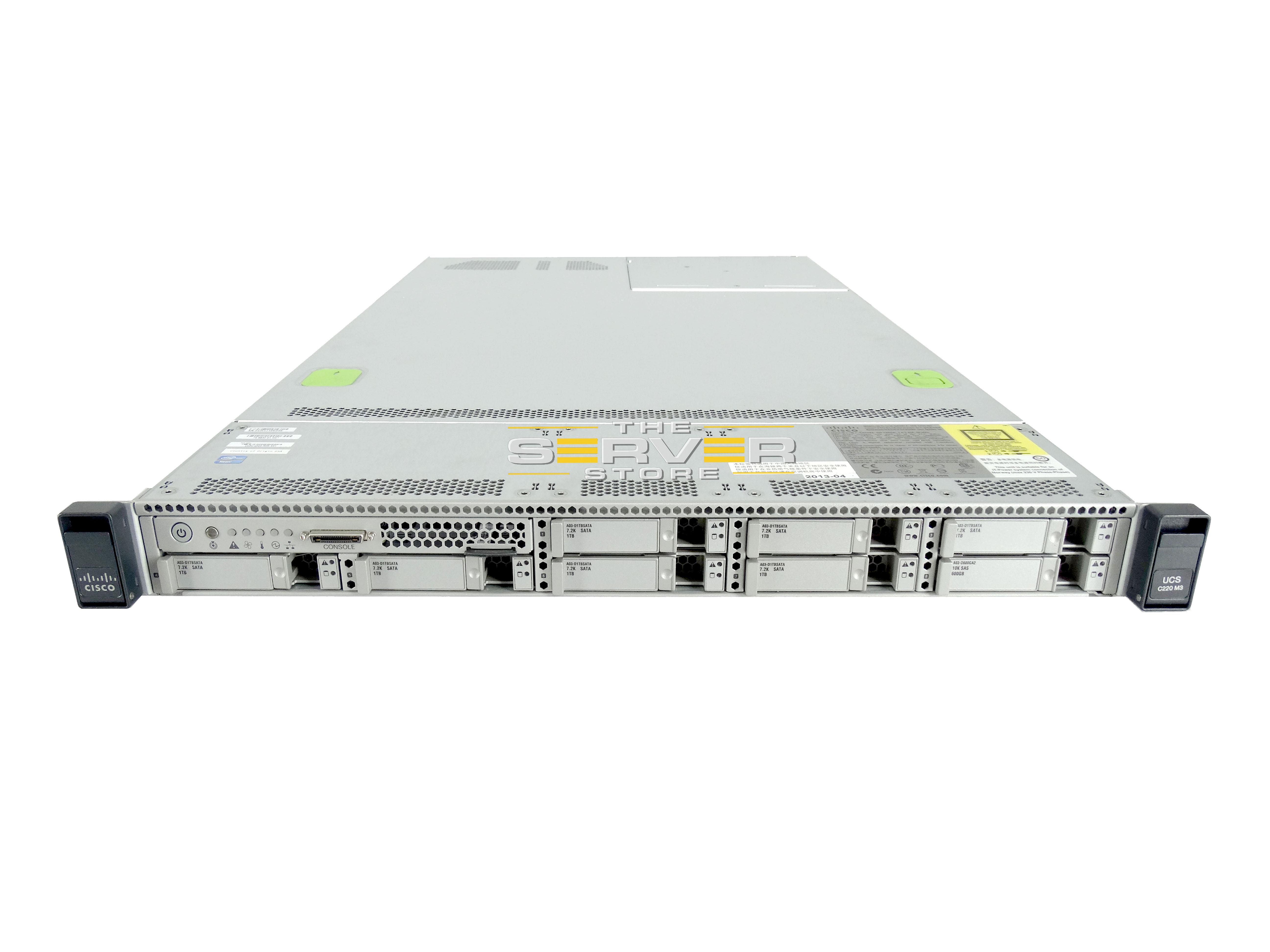 Cisco UCS C220 M3 8x SFF 1U Server