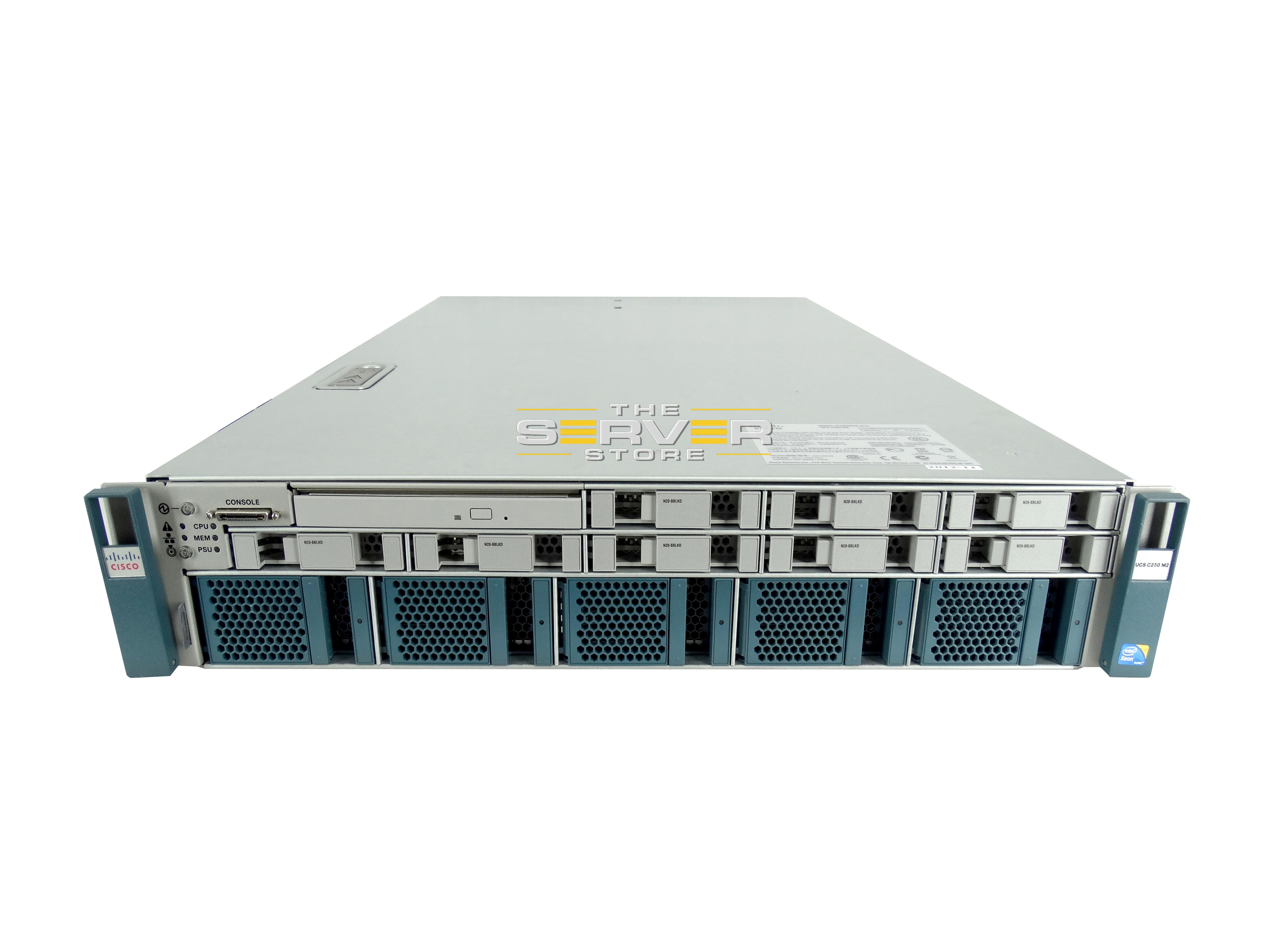 Cisco UCS C250 M2 8x SFF 2U Server