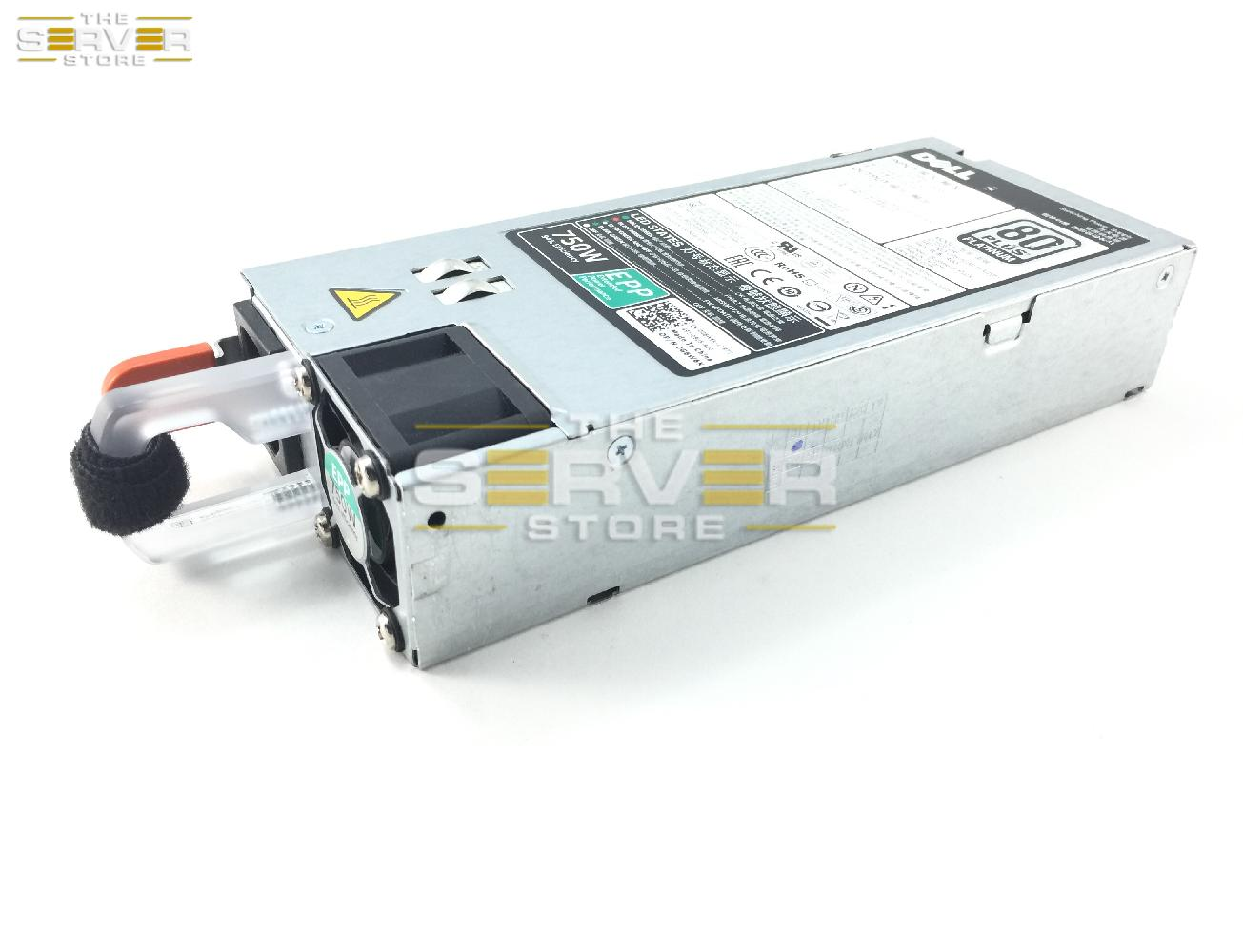 Dell PowerEdge R630 R730xd 750W 80-Plus Platinum Power Supply, G6W6K