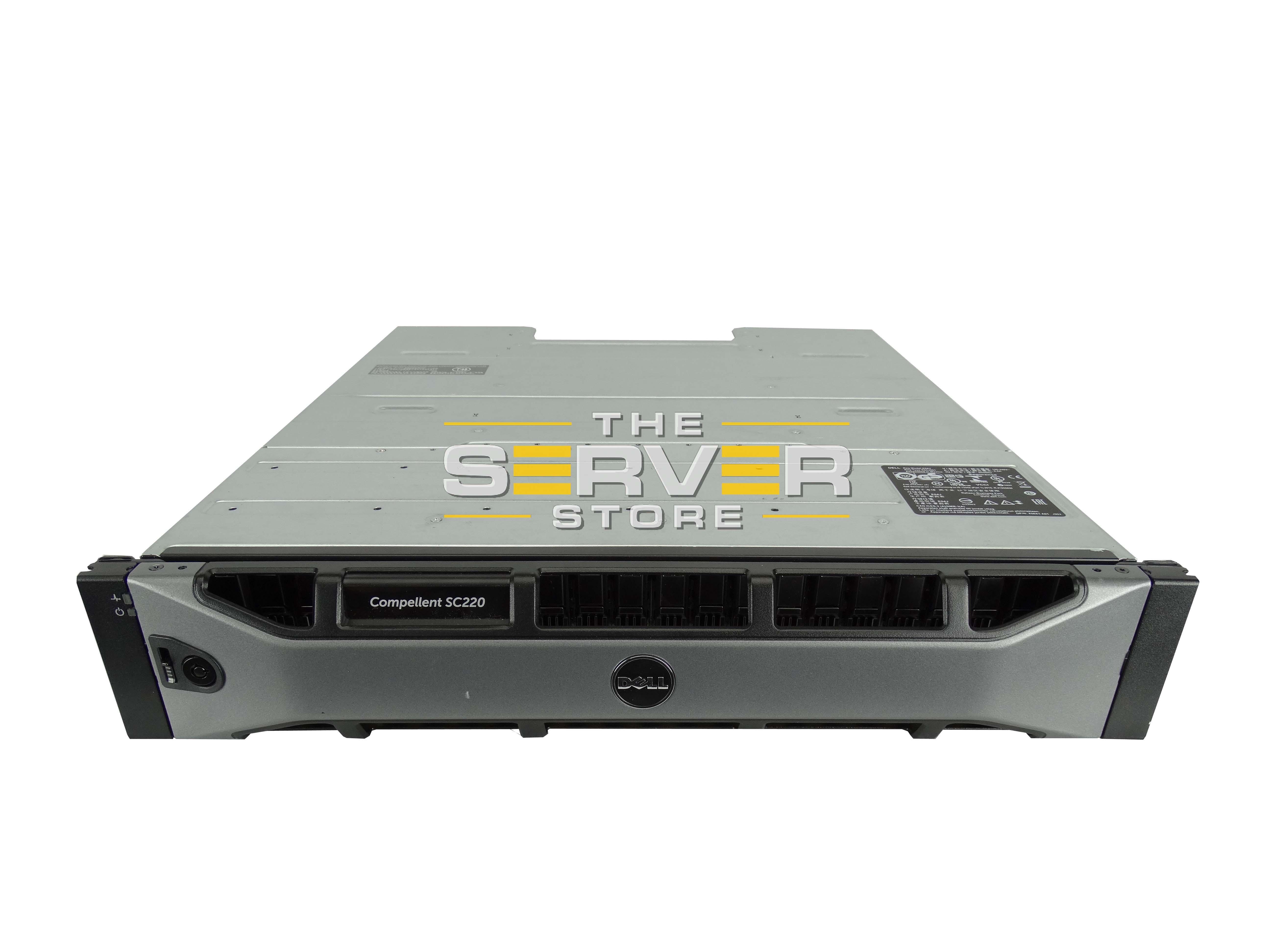 Dell Compellent SC220 Enclosure W/ 24x 900GB 10K 6GBPS Hard Drives