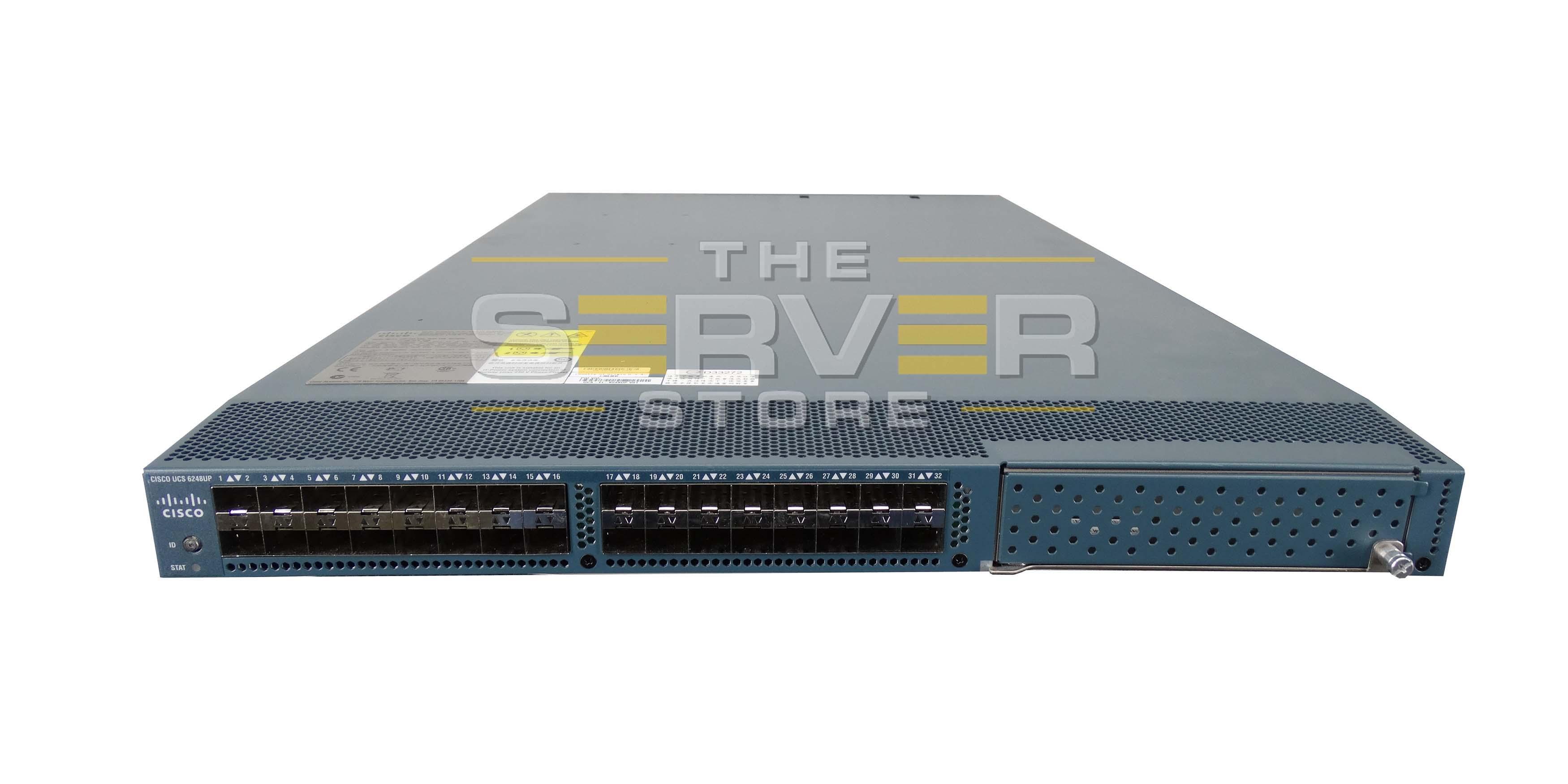 Cisco UCS 6248UP 48-Port Fabric Interconnect UCS-FI-6248UP
