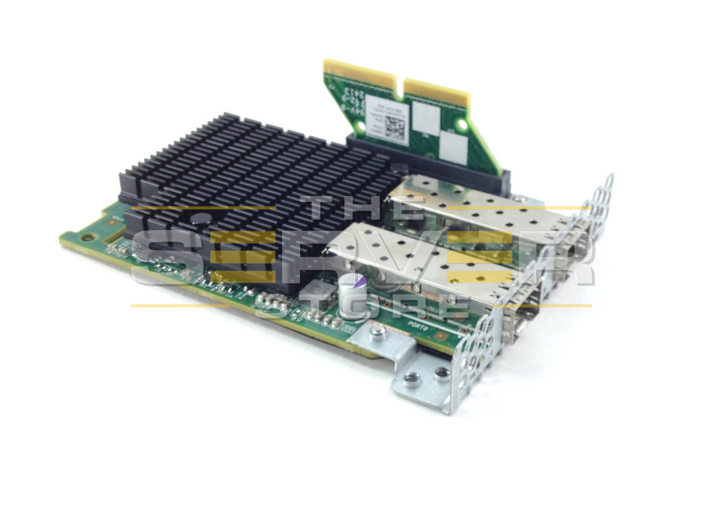 Dell 10GBE SFP PCI-E Dual Port Mezzanine Card For C6100/C6220, X53DF