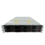 SuperMicro FatTwin 6027TR-DTRF 12x 2U LFF 2-Node Server