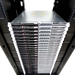 APC AR3150 Rack Enclosure with 32x SuperMicro SuperServer 6017R-TDLRF
